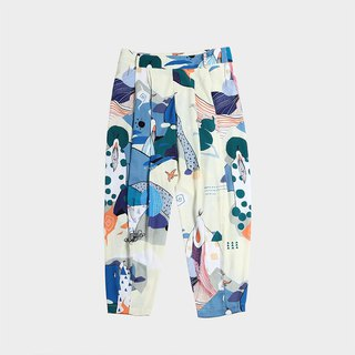 Old Fairy Digital Printed Trousers