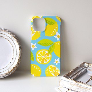 Plastic iPhone case - Lemon -
