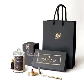 Living Gift Bags - Plato & Platinum + Brass Set