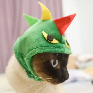 Dinosaur modeling pet cat dog hat cap *S