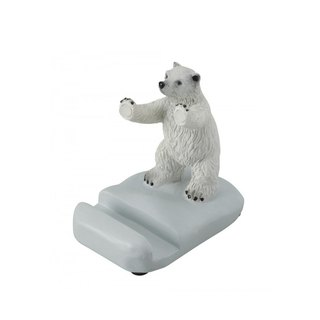 SUSS-Japan Magnets cute table small mobile phone holder / mobile phone holder (polar bear) - spot
