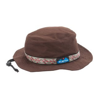 KAVU Strap Bucket Hat 民族編織漁夫帽 巧克力 #123