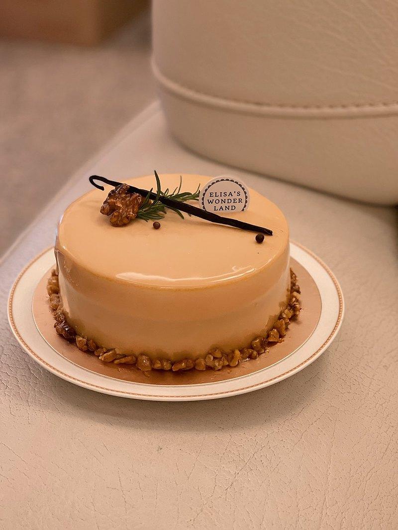【中古女郎】焦糖南瓜巧克力慕斯蛋糕