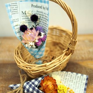 Mini small bouquet of dried