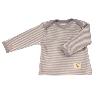 100% organic cotton brown line T shirt for children Made in the UK