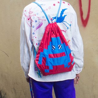 Red Pixel Monster Backpack