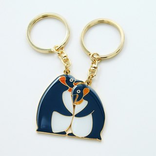 Perfect Together Key Ring - King Penguin Customized Thunder Lettering Service