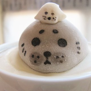 Floating seal pups marshmallow