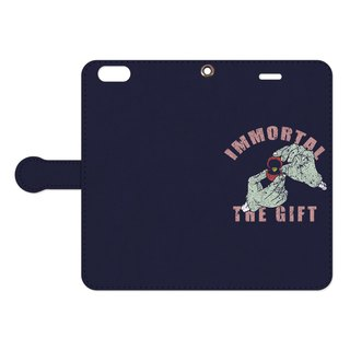 Notebook type iPhone case / immortal the gift