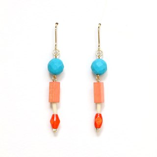 petit romance bead earrings · earrings