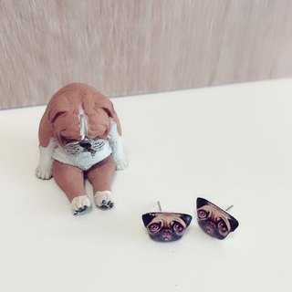 Dog Earrings Series Bago