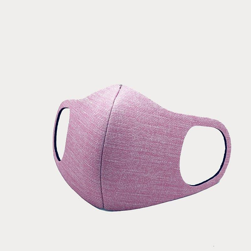 BLR 麻布紋 3D立體口罩 買一送一 SGS檢驗合格