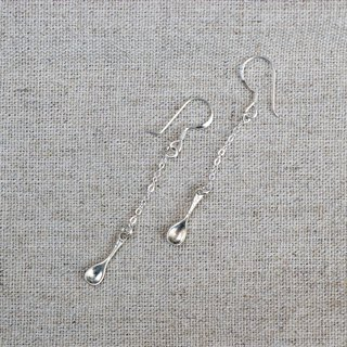 Kawagoe sterling silver spoon sterling silver earrings for limited edition