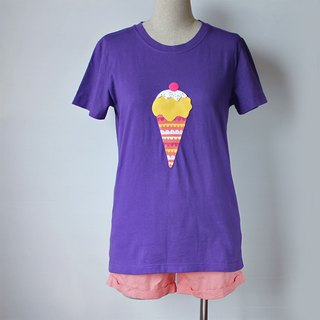 Mango ice cream short sleeve t-shirt