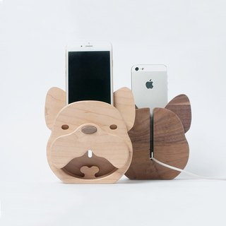 WOODEN SPEAKER - FRENCH BULLDOG
