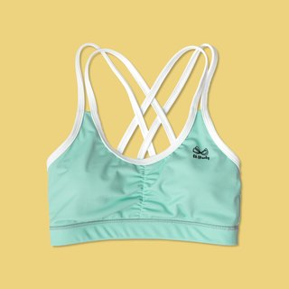 Mini Mint strappy bras