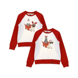 AMO Original cotton adult Sweater /AKE/Santa Claus and His Elk