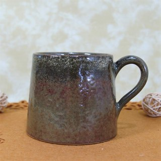Sea cucumber green glazed coffee cup, teacup, mug, cup, mountain cup - about 300ml