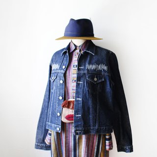 Transformation of vintage denim jacket