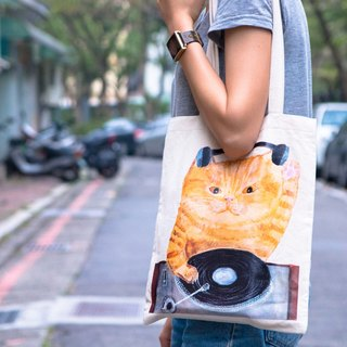 Cat Peibu bag canvas bag