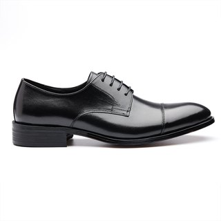 Kings Collection รองเท้า Layton Cap Toe Derby KV80086 ดำ