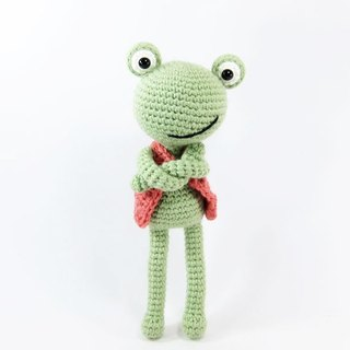 Big Eyed Frog - Frog - Ornament - Doll