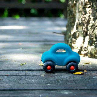 US Rubbabu pure natural latex car - - Wholedout - - Biodegradable infant green toys