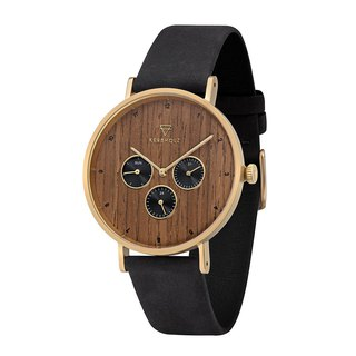KERBHOLZ - Wood Watch - CASPAR - Walnut (42mm)