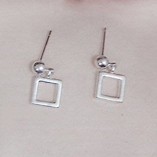 Toast 925 sterling silver earrings (boxed)