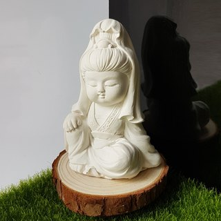 Miniature Small meditation Guanyin G1, scented car accessory