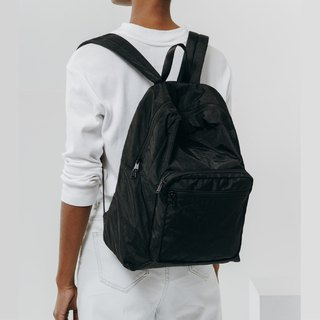 [New] BAGGU cushioning material backpack - wild black