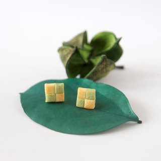 Mini Chessboard cookies -Matcha flavor