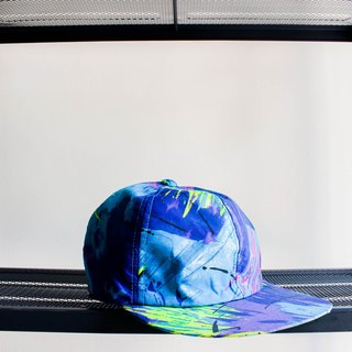 River Hill - Shimabara Peninsula blue tone melody of antique poetry six cut dome Benn baseball cap peaked cap / baseball cap