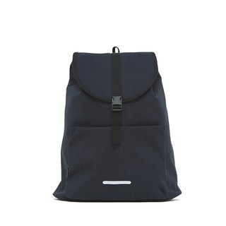 Roaming Series-13吋Simple Constraint Rear Backpack-Ink Black-RBP232BK