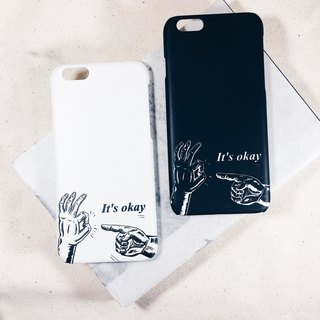 It's okay - iPhone case