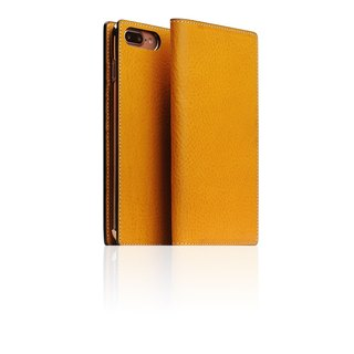 SLG Design iPhone 8 / 7 Plus D6 IMBL Handmade Line Top Leather Case - Brown