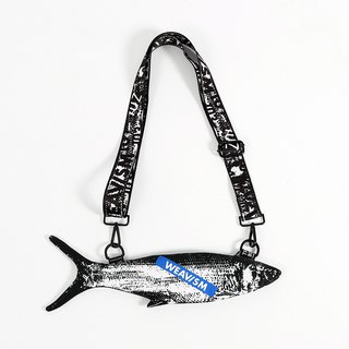 Milkfish Mobile Phone Bag - Black and White