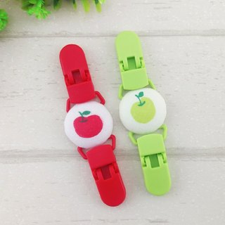 Small apple-2 optional. Handkerchief clip / universal clip / toy clip / double head clip