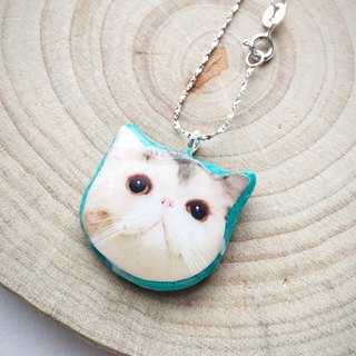 Happy Cat Jojo Stardust 925 Silver Handmade Necklace