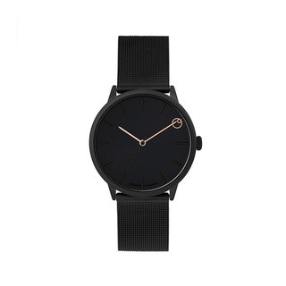 Rawiya Collection - Chez Maman Black Dial - Black Milan with Adjustable Watch