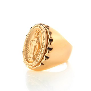 天主教聖母戒 Immaculate Conception  Ring