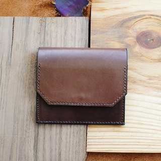 Simple light wallet (monochrome dye) - a total of 10 colors