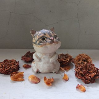 [Tao] Tabby Cat Pottery
