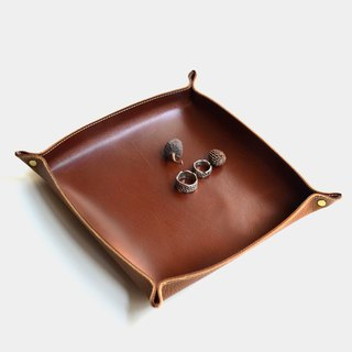 [Paranoid butler] leather storage tray leather storage box tray leather trays coffee