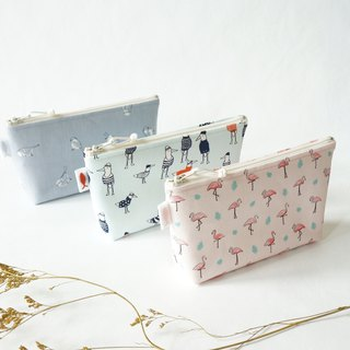 /Bird Series // Portable Cosmetic Bag/Small Bag/Travel Bag