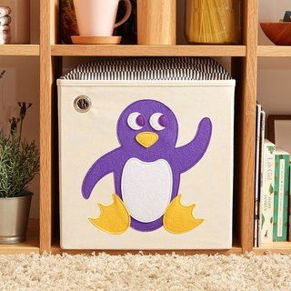 American kaikai & ash Toy Storage Box - Playful Penguin