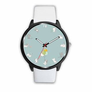 Lovely Cat Dials Custom Design Watch by 2 Nerds
