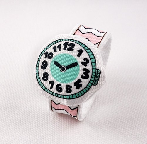 Rabbit Mint Baby my first cloth watches My first Baby Watch (BBW-R002)