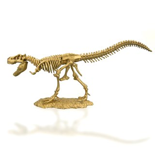 Excavation of Celebrity BIG-40CM gold color big dinosaur