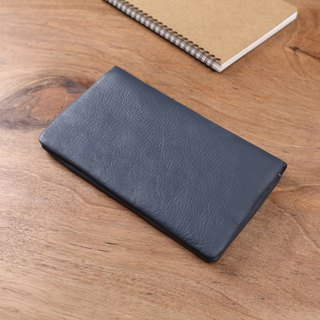Wallet handmade leather long clip Wallets Passport holder passport case